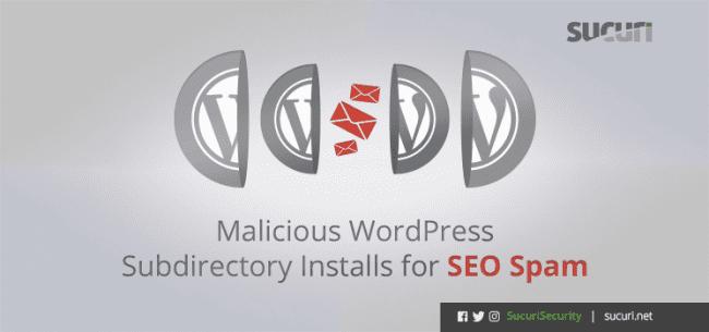 Malicious WordPress Subdirectory Installs For SEO Spam