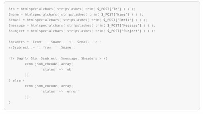 email-script