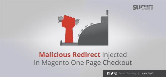 Malicious Redirect Injected in Magento One Page Checkout