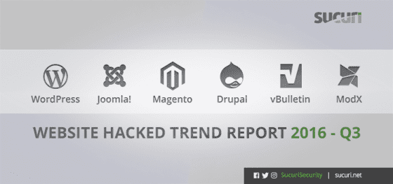 Hacked Website Report – 2016/Q3