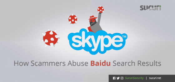 How Scammers Abuse Baidu Search Results