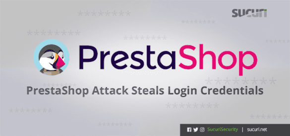 Prestashop login stealer