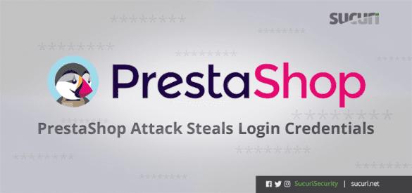 Prestashop login stealer