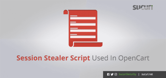 Session Stealer Script Used In OpenCart