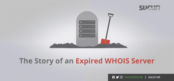 The Story of an Expired WHOIS Server