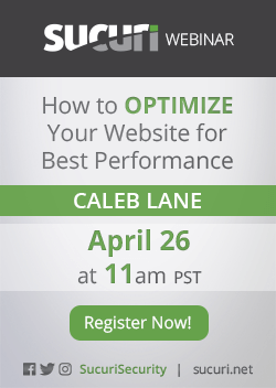Website Performance Optimization webinar