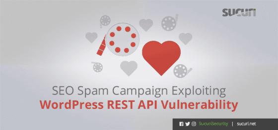 SEO Spam Campaign Exploiting WordPress REST API Vulnerability
