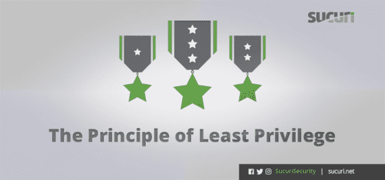 The Principle of Least Privilege