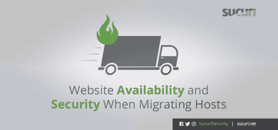 Website Availability and Security When Migrating Hosts