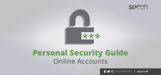 Personal Security Guide – Online Accounts