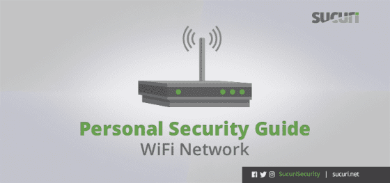 Personal Security Guide – WiFi Network