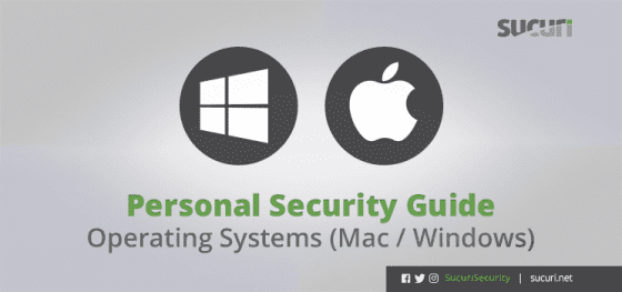 Personal Security Guide – Windows and macOS