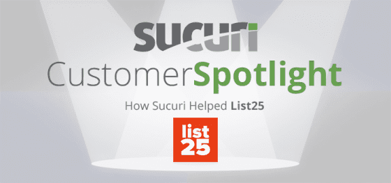 Spotlight: Security for List25, a Popular Entertainment Website