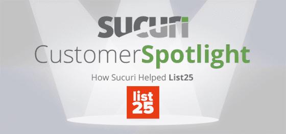 Spotlight: Security for List25, a Popular Entertainment Website