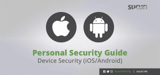Personal Security Guide – iOS/Android