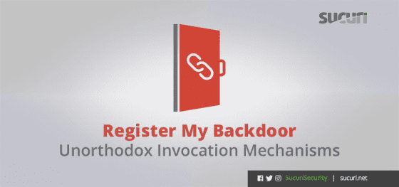 Register My Backdoor – Unorthodox Invocation Mechanisms