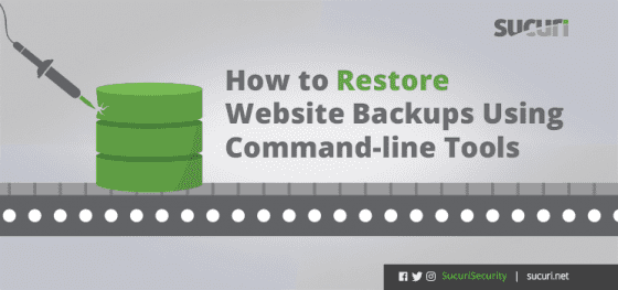 How to Restore Website Backups from the Command Line