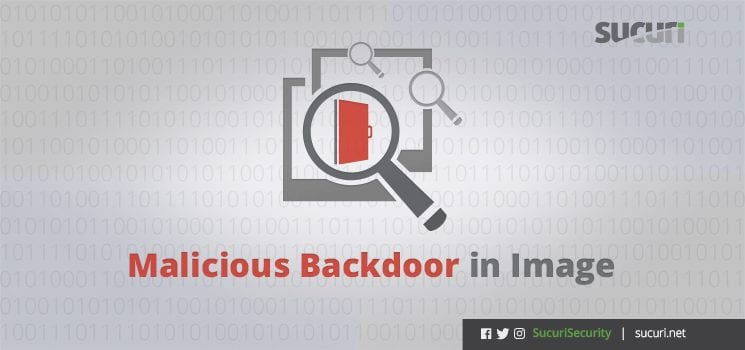 malicious backdoor in image blog post header