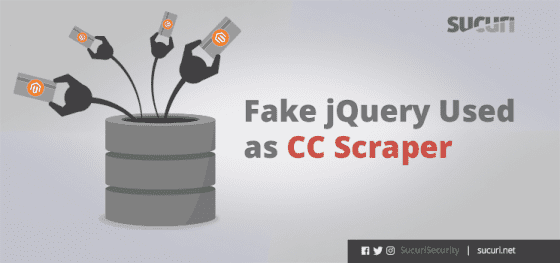 Ecommerce Security: Fake Jquery Used as CC Scraper