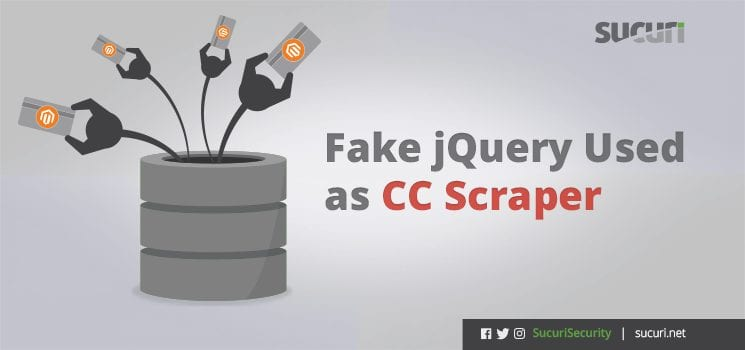 Fake jquery used as cc scraper