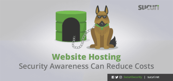 Website Hosting: Security Awareness Can Reduce Costs
