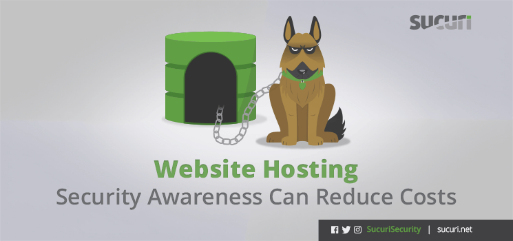 website hosting security awareness header blog