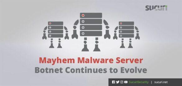mayhem malware server botnet blog header