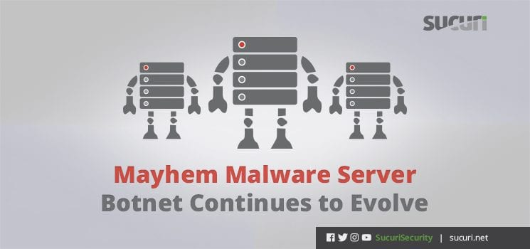 mayhem malware server botnet blog header