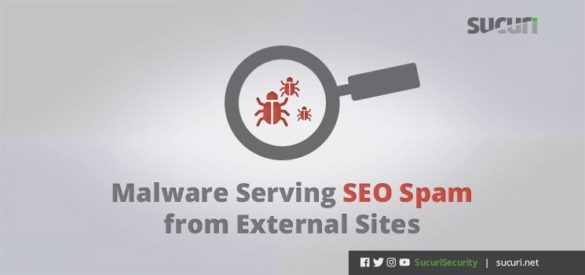 Malware Serving SEO Spam from External Sites