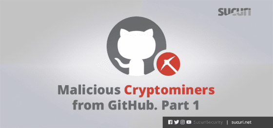 Malicious Cryptominers from GitHub