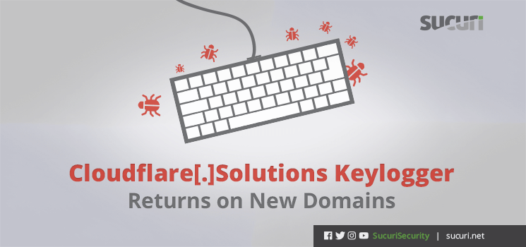 keylogger returns on new domains