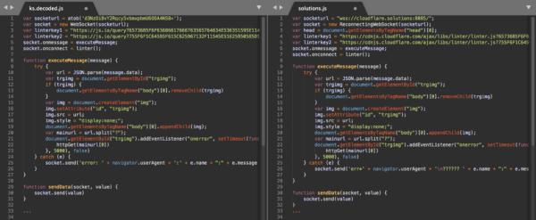 Comparando la diferencia entre el nuevo y el viejo keylogger