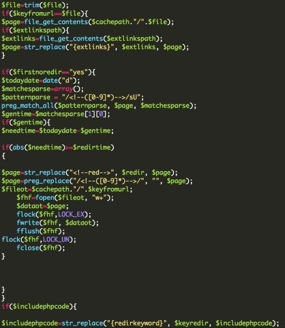 Blackhat SEO Script