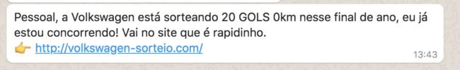 VOlkswagon Portuguese Scam
