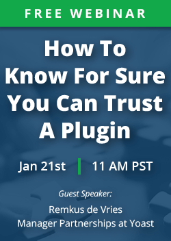 Webinar: How to know you can trust a plugin