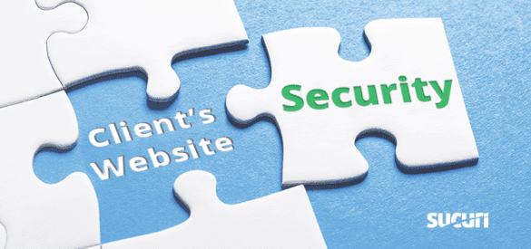 Add website security to client's websites