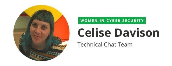 Celise Davison (Technical Chat Team)
