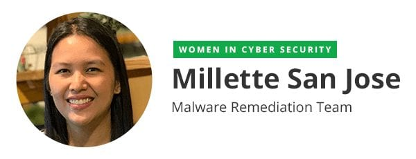 Millette San Jose (Malware Remediation Team)