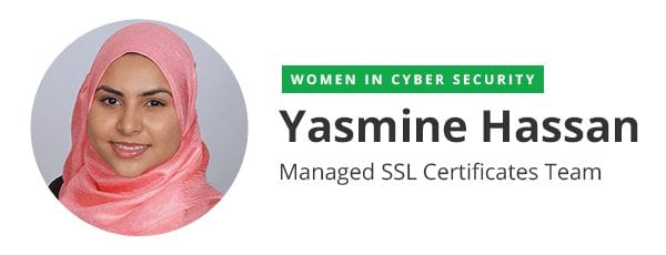 Yasmine Hassan (managed SSL Team)