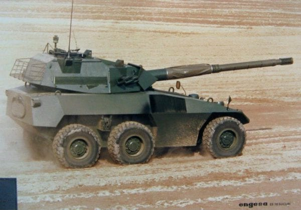 EE-18 Sucuri - tank destroyer, yes, Sucuri's name came from this tank
