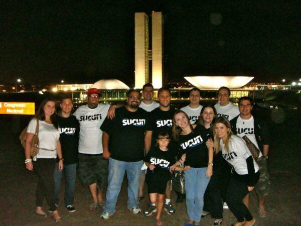 The first Sucuri team get together in Brasilia - Brazil