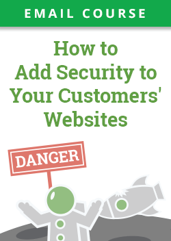 How to Add Security to Customer Websites Email Course