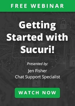 Getting Started with Sucuri Webinar