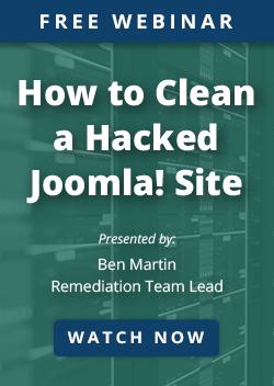 Joomla Webinar