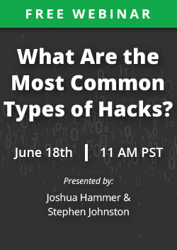 What are the most common types of attacks?