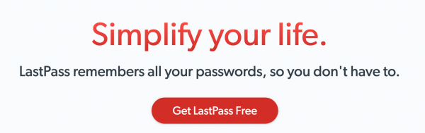 LastPass - Password Generator