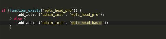 unprotected admin_init hook