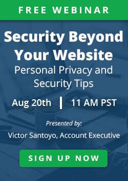 Personal Privacy Webinar