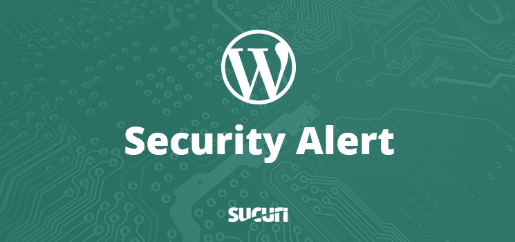 WordPress Security Alert